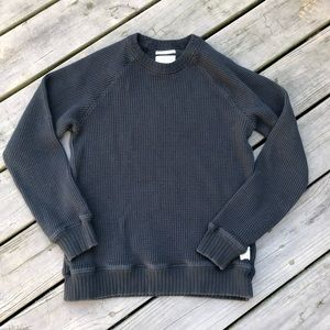 Lucky Brand Good Luck Knitwear Sweater Grey Label